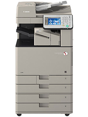 Brown Canon imageRUNNER ADVANCE C3330 Colour Copier with document feeder and four trays