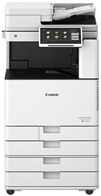 Canon imageRUNNER ADVANCE C3730i III Colour Copier in white colour