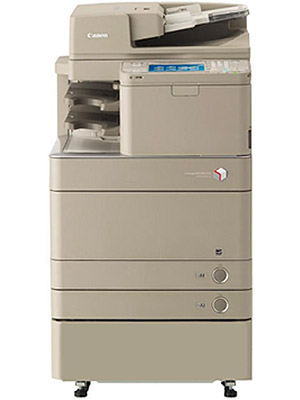 Brown Canon imageRUNNER ADVANCE C5235 Colour Copier with two paper trays