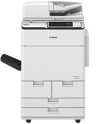 Heavy duty Canon imageRUNNER ADVANCE C7580i copier in white colour