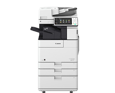 Image button that links to Canon Copier page
