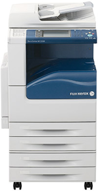 Fuji Xerox DocuCentre-IV C2260 Colour Copier with four paper trays