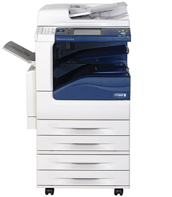 Fuji Xerox DocuCentre-IV-C3370 Colour Copier with four paper trays