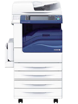 Fuji Xerox DocuCentre-V 4070 Copier with four paper trays