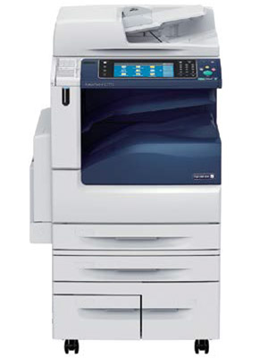 Fuji Xerox DocuCentre-V-C7775 Colour Copier with four large capacity paper trays