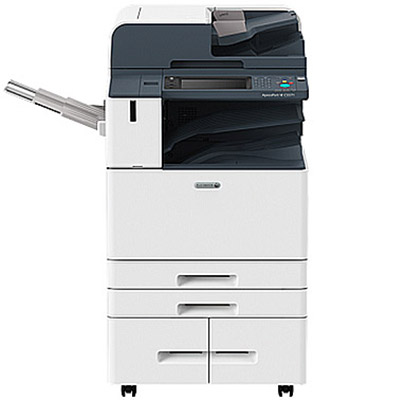 White Fuji Xerox DocuCentre-VI-C6671 Colour Copier with four paper trays